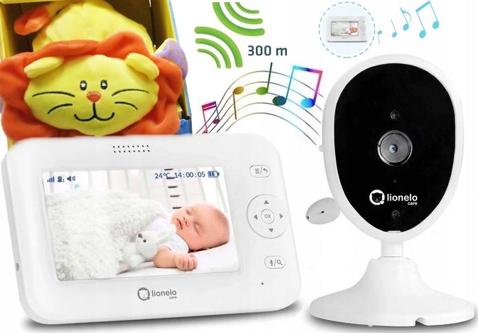 Niania Elektroniczna Lionelo Babyline 8.1 Kamera