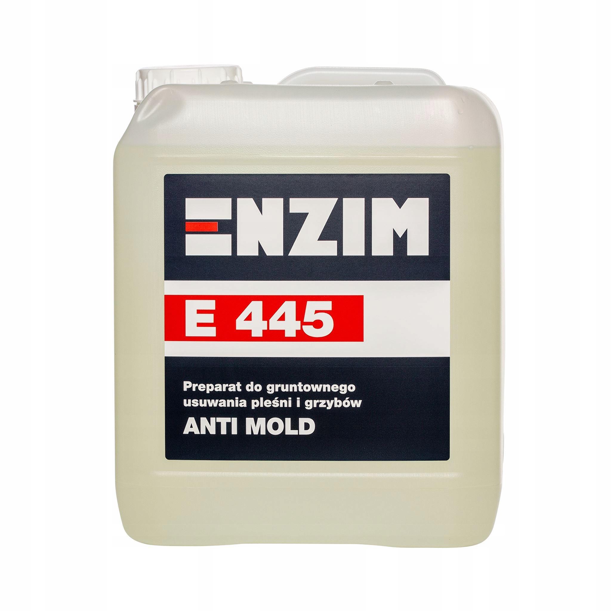 E 445 ENZIM удаление плесени грибка 5 Л