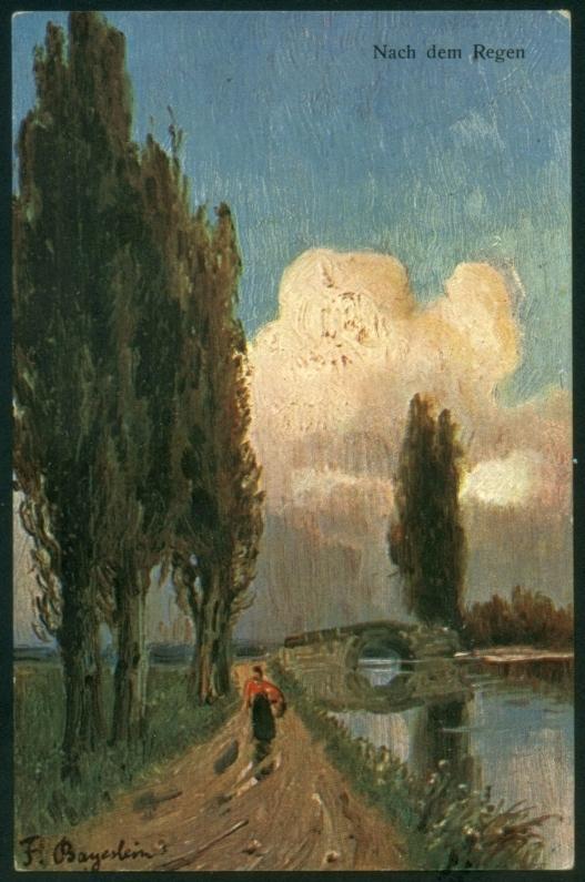 F. Bayerlein - Nach dem Regen - K & BD 1904 г.