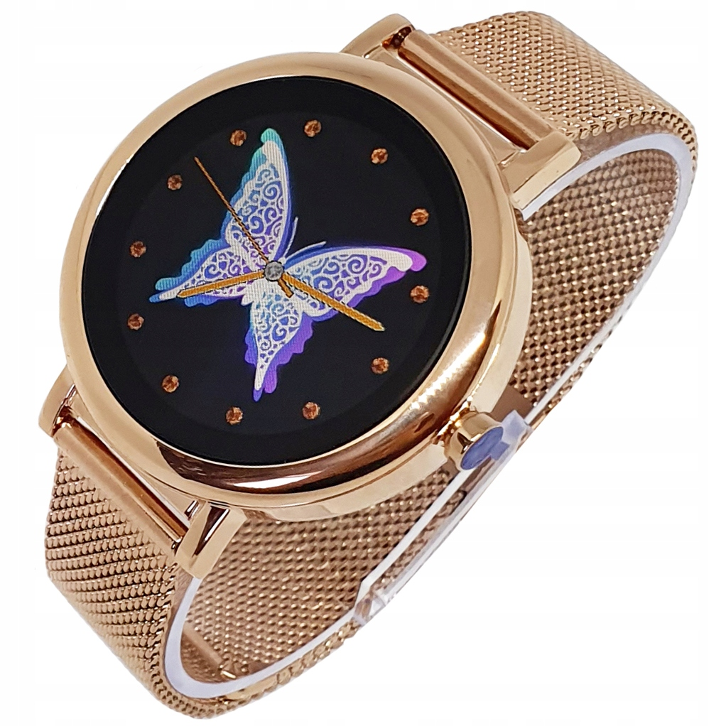 Smartwatch do Xiaomi Huawei Samsung Apple złoty
