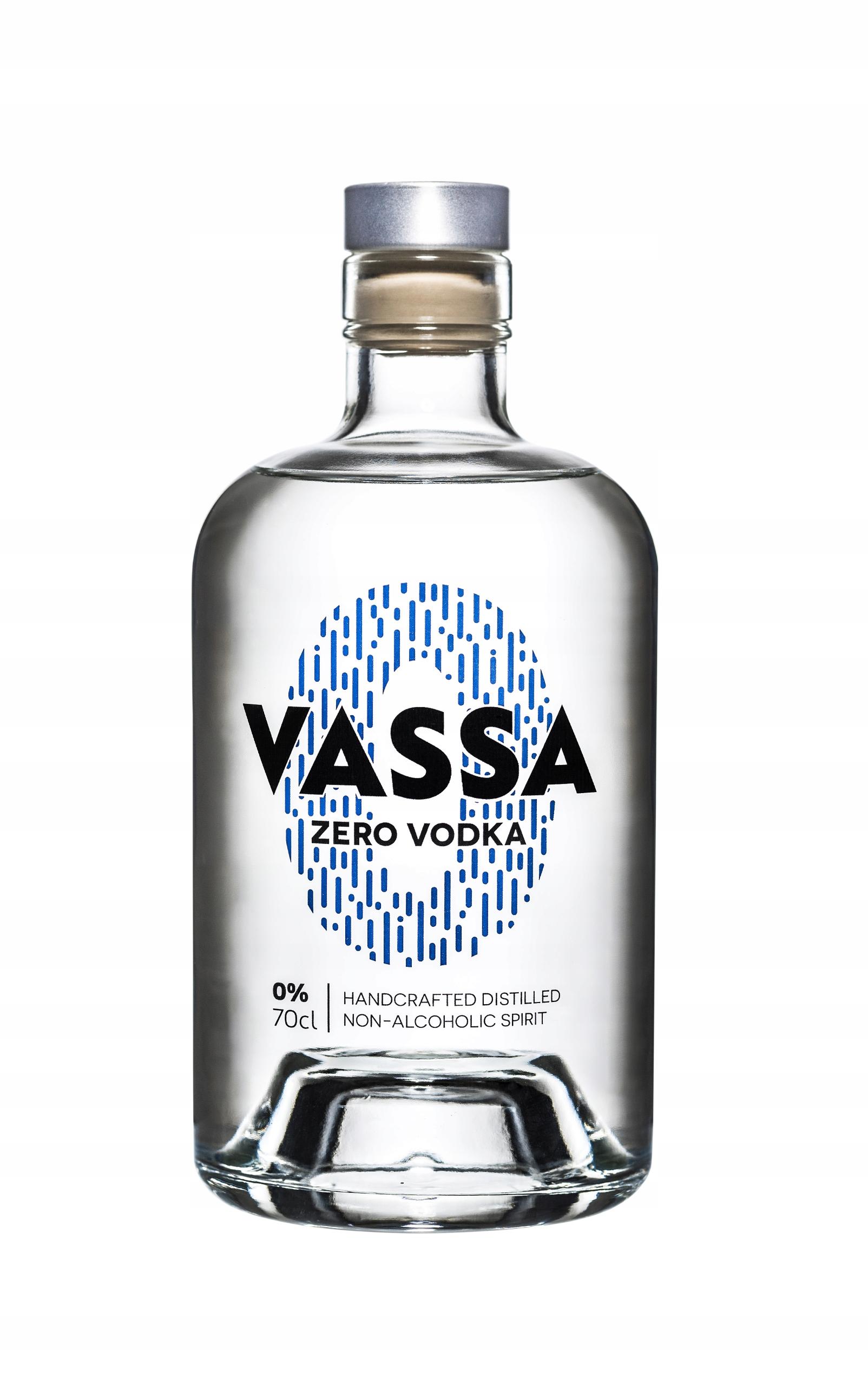 VASSA Zero Vodka - безалкогольная водка
