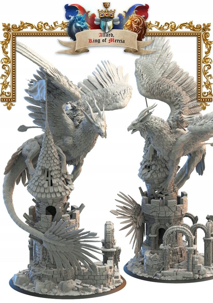 Allard, Kráľ Mercia - Lost Kingdom - 3D výtlačok