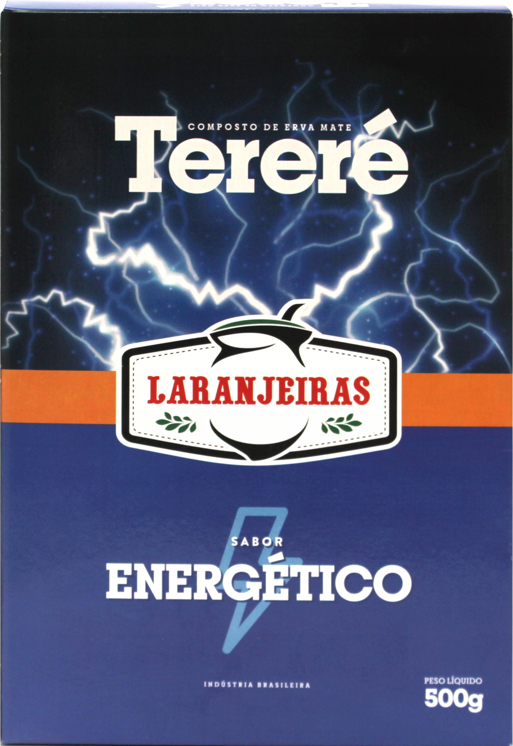 Йерба Мате Ларанжейрас Энергетико Гуарана 500г