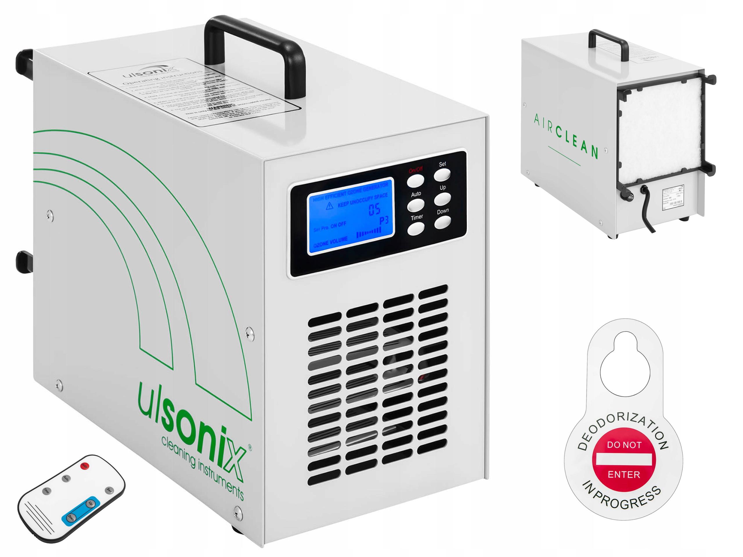 Ozonátor s UV žiarovkou 20000mg / h pilotný čistič