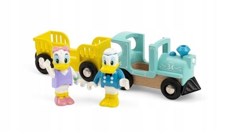 BRIO Retro káčer Donald a Daisy Train