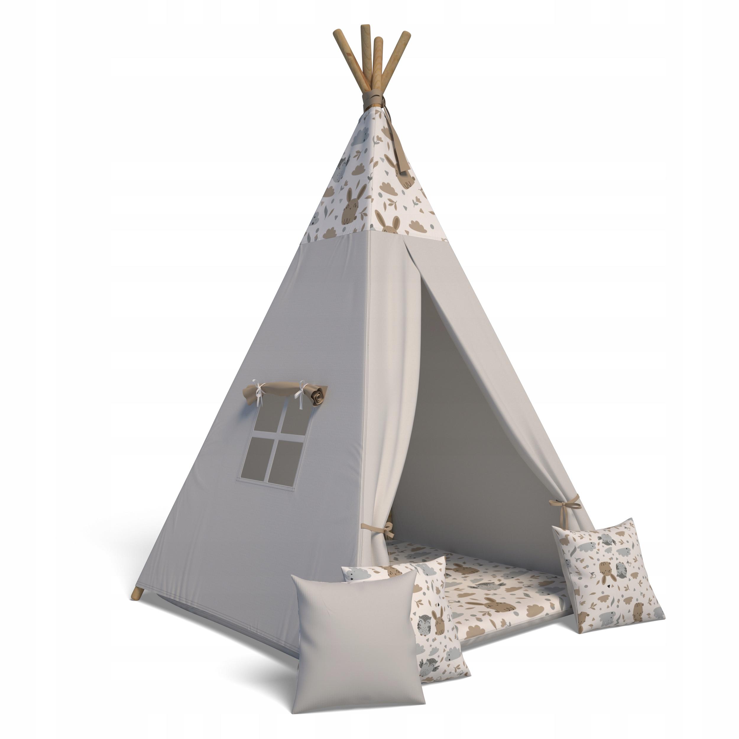 Палатка TiPi Wigwam + подушка + коврик 3 шт.