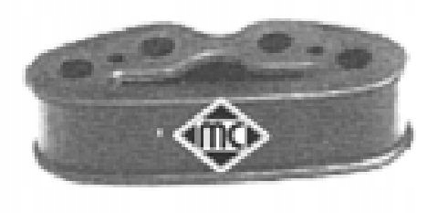 расстояние резиновый глушитель metalcaucho 02639