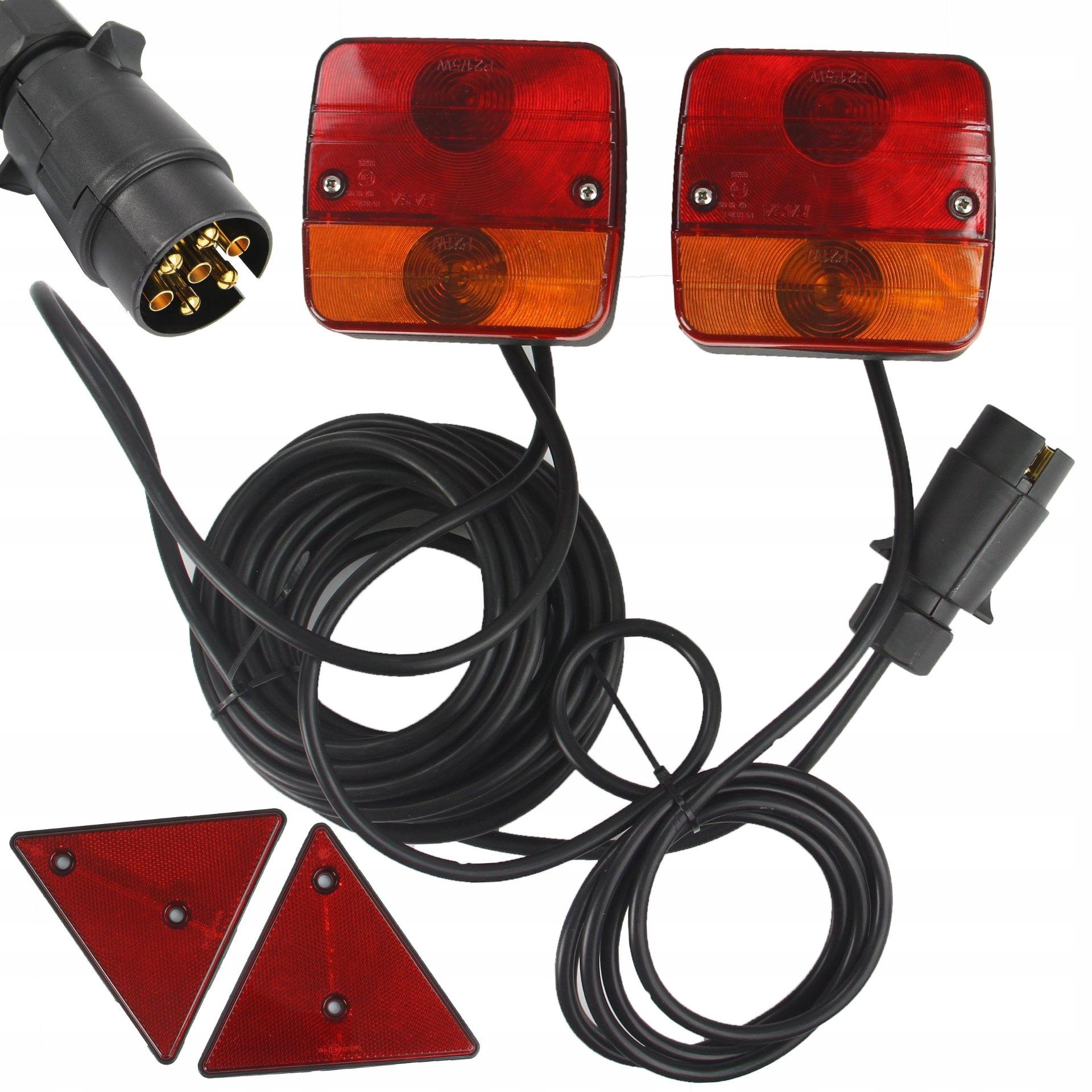 комплект лампы Света к прицеп магнит