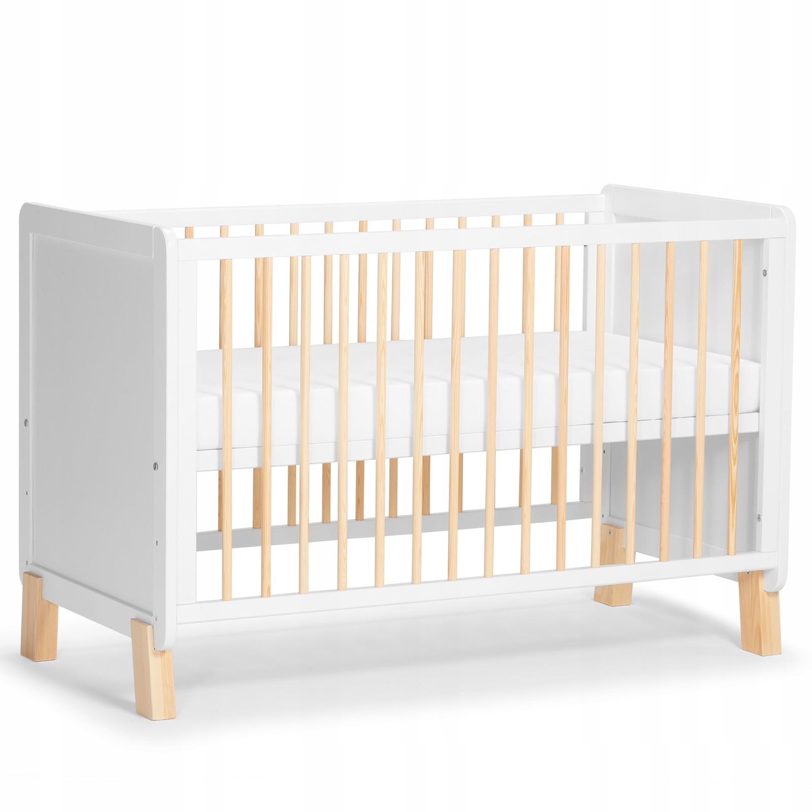 KINDERKRAFT NICO 2в1 детская кроватка