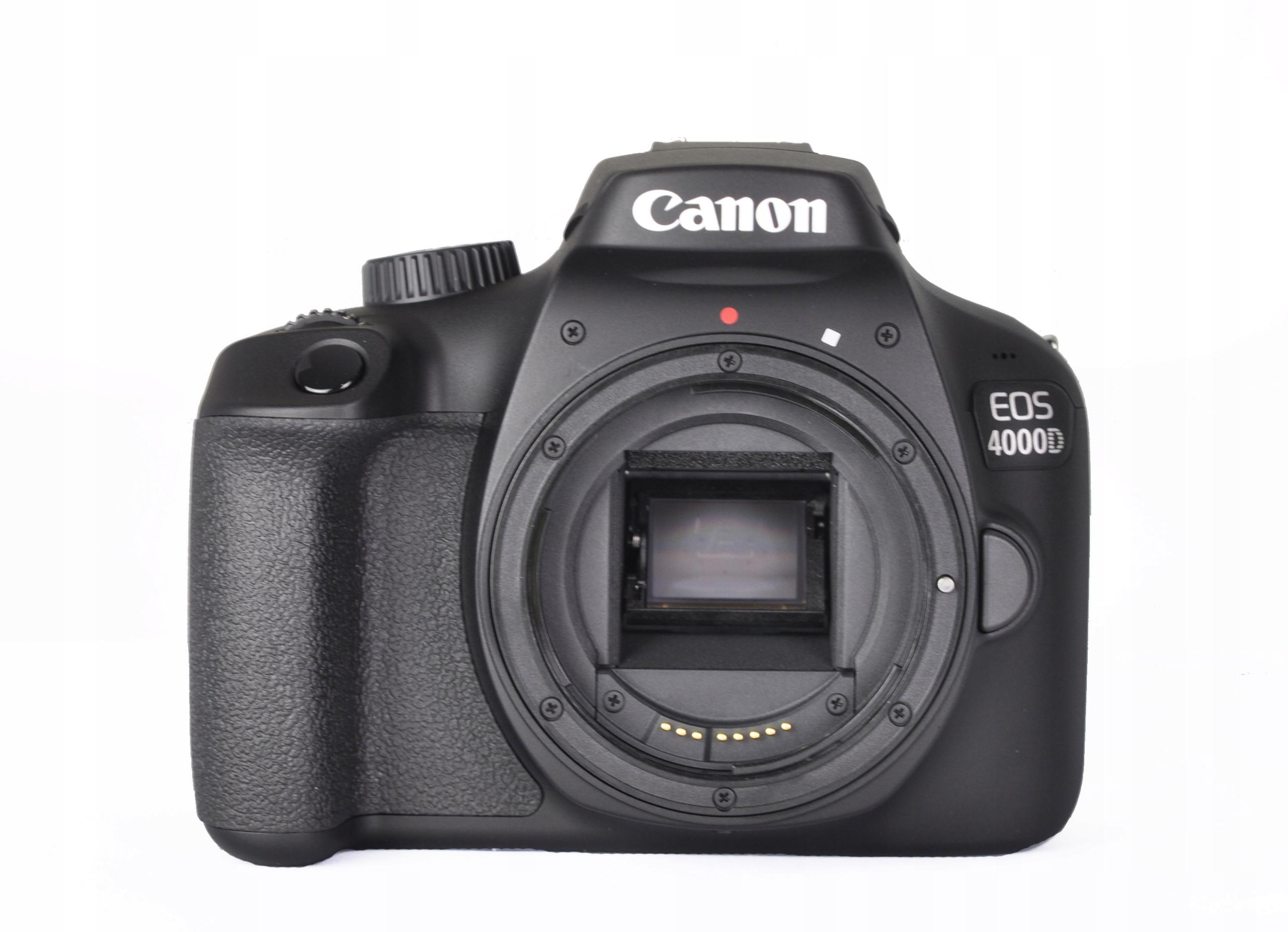 Lustrzanka Canon 4000D korpus