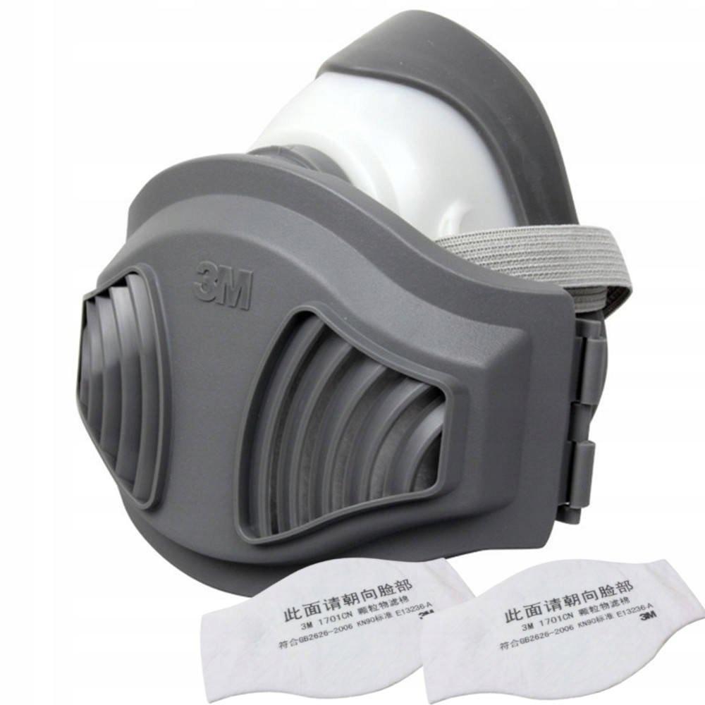 Маска 3М от пыли 1215 KN95 2 фильтры CN1705