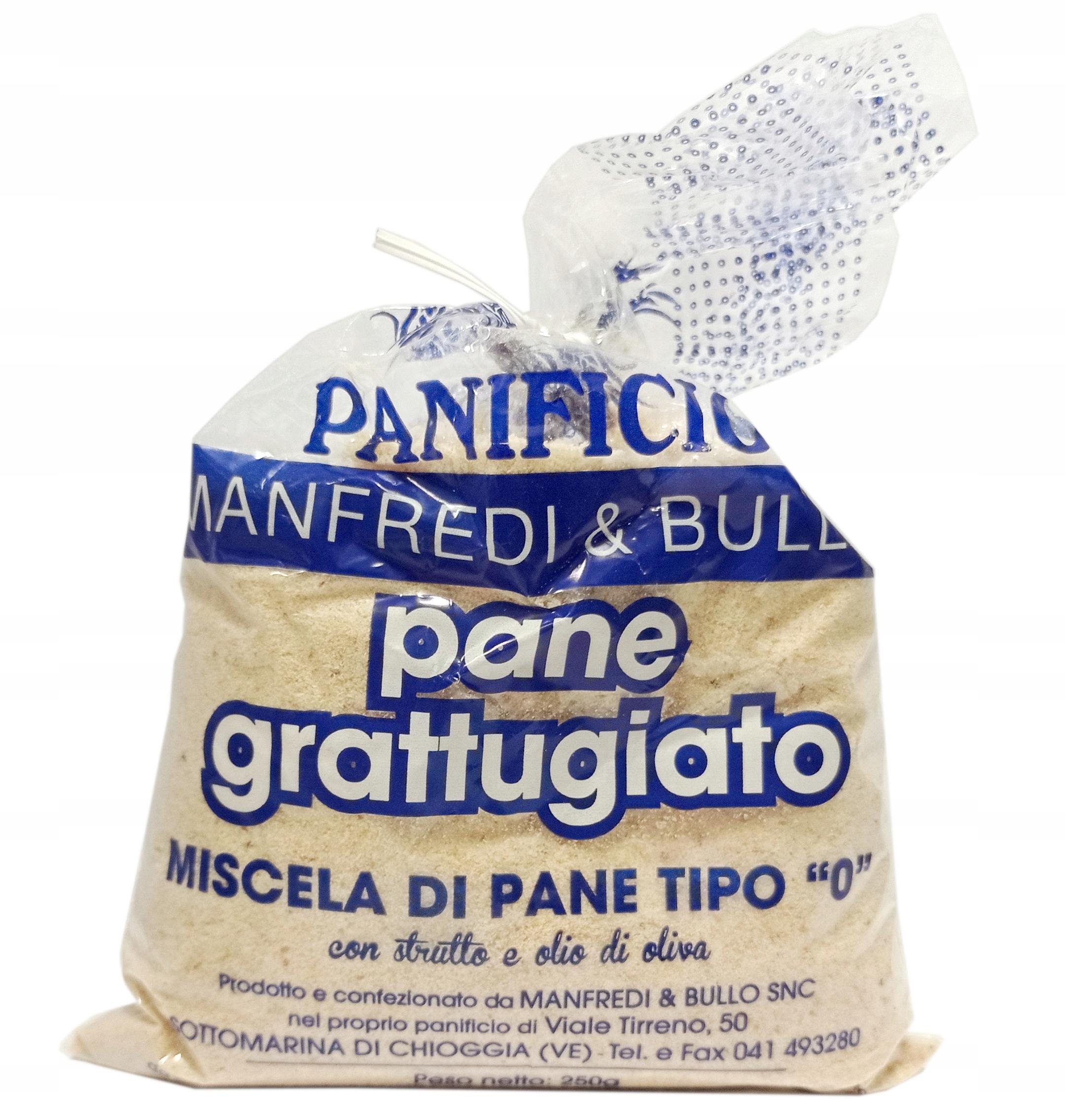 Купить Панировочные сухари Смесь хлеба типа 0 Итальянский 250г на Otpravka - цены и фото - доставка из Польши и стран Европы в Украину.