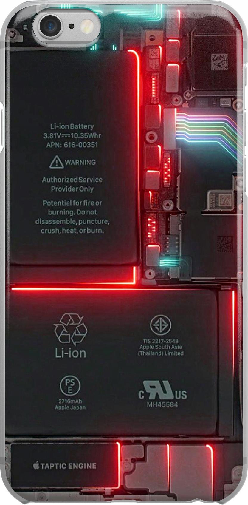 Etui Wzory Tech Samsung M11