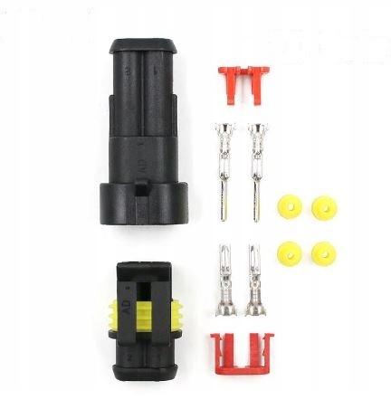 кубик разъем разъем герметичные - 2 pin