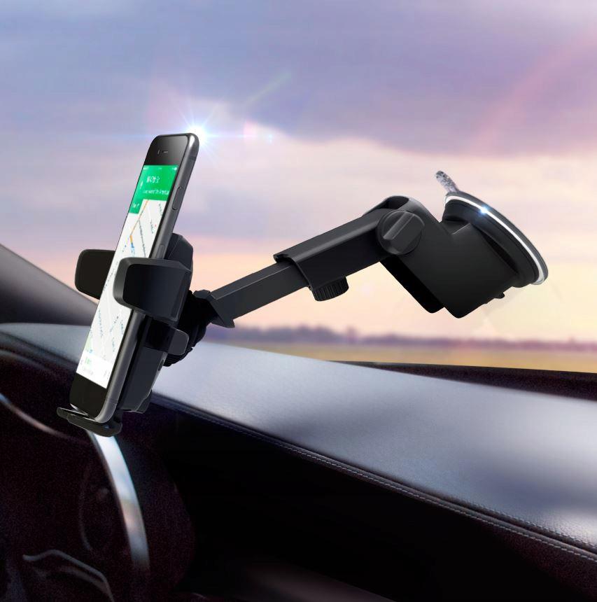 MOCNY Uchwyt Samochodowy na Telefon Szybę Deskę Producent INNY