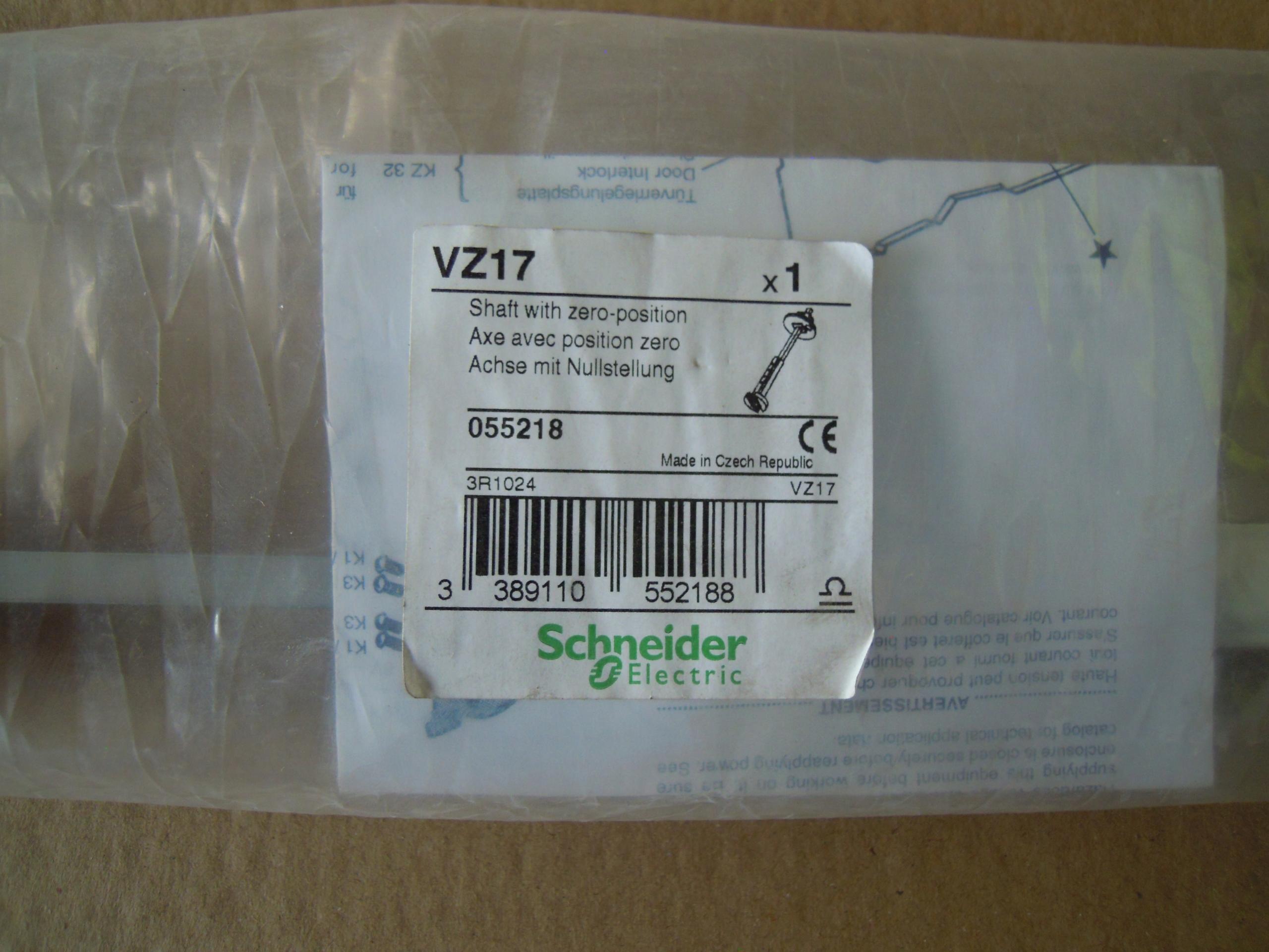 Wałek napędu 300-340mm VZ17