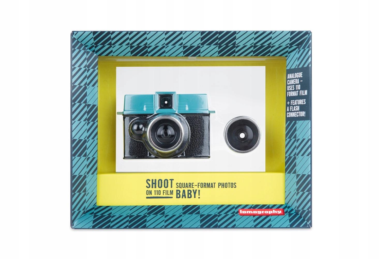 Kamera Lomography Diana Baby + 12mm 110 objektív