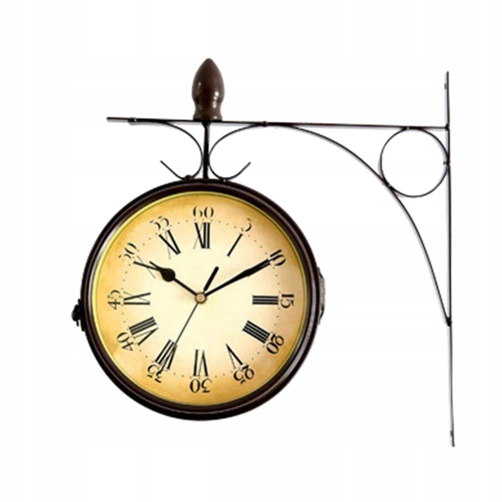 Závesné dekorácie hodín Retro krásne železné hodiny pre