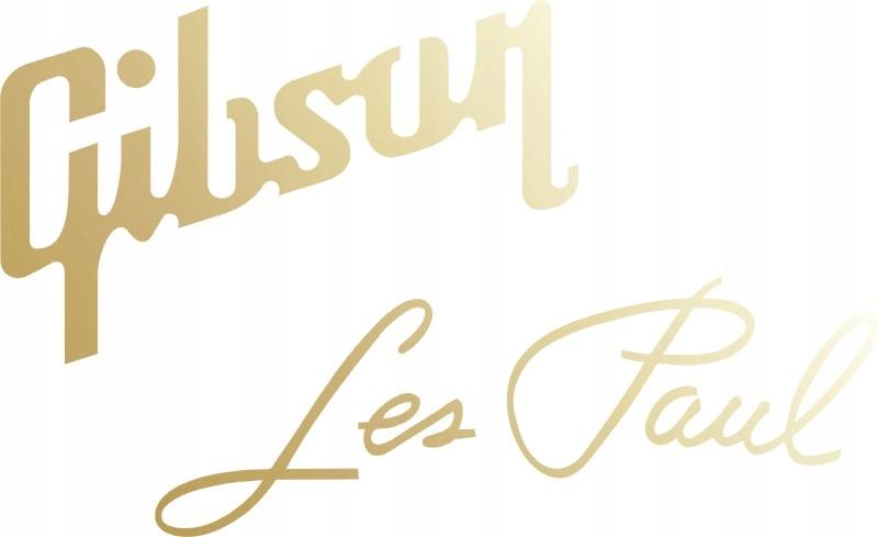 Gibson Les Pau Gold Stickers Guitar GRYF 546