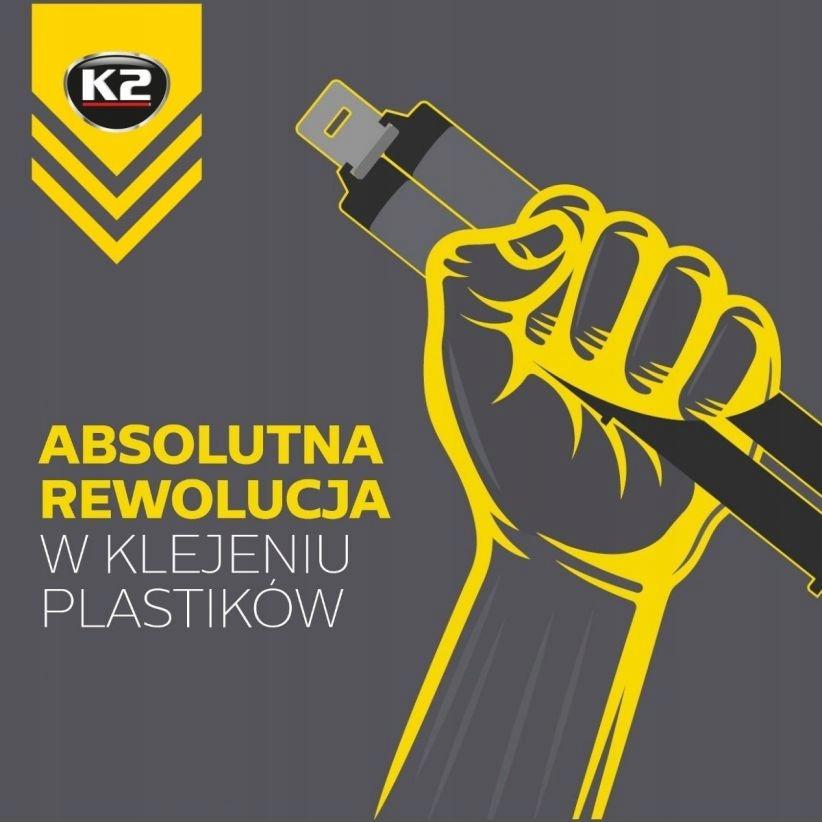 K2 PLASTIPOX универсальный клей для пластика сильный тип эпоксидной смолы