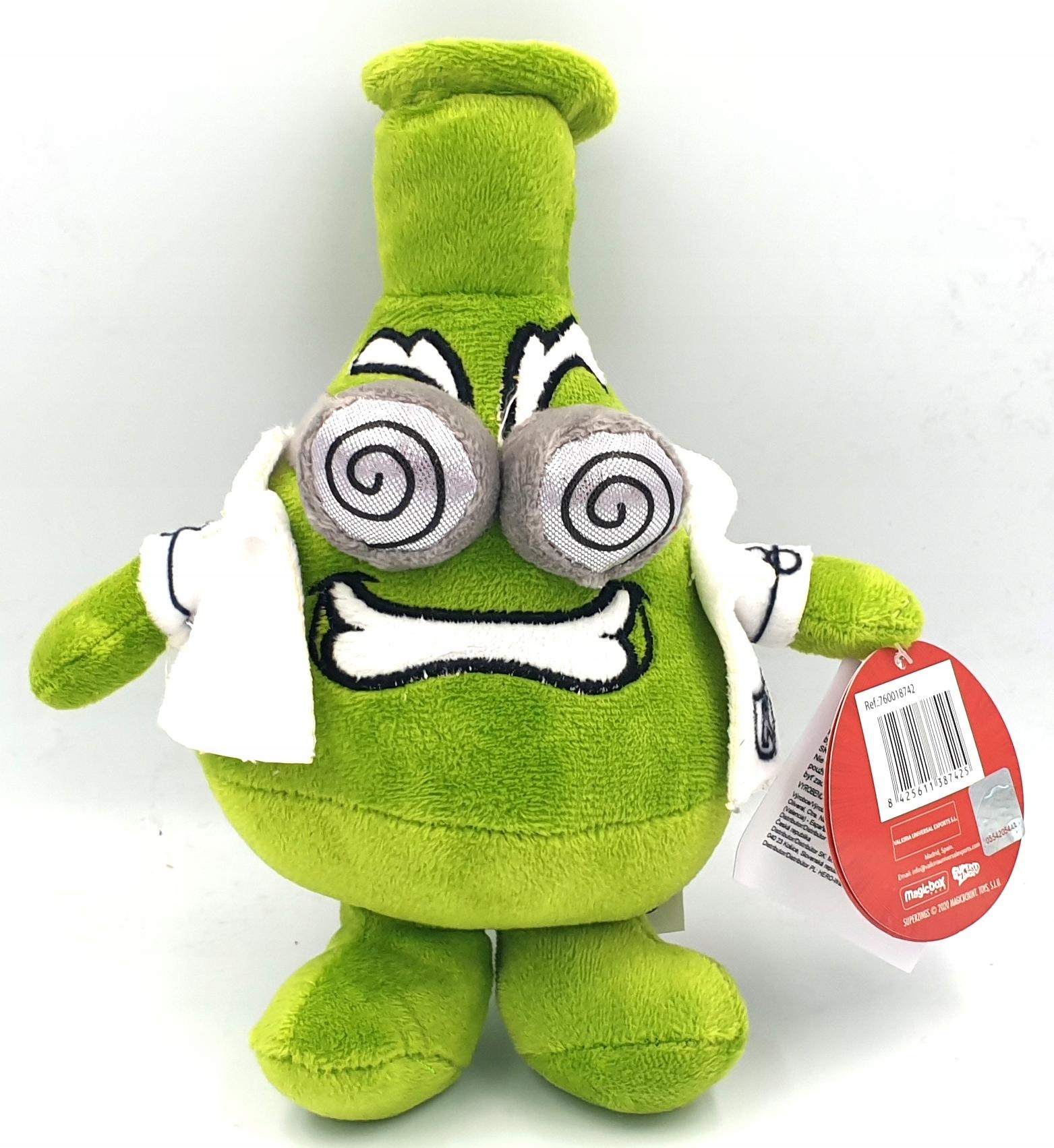 Maskot Super Zings plyšová hračka Superzings Professor K.