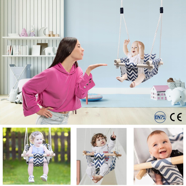 BAVLNA PREMIUM CUP detská hojdačka, zapínanie Kód výrobcu TL18B-07