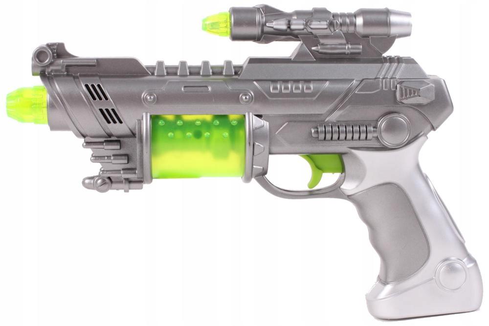 PISTOLET Świetlny Millenium Falcon WIBRACJE Broń Bohater brak