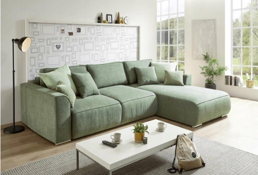 Угловой диван-кровать MILO с контейнером SM