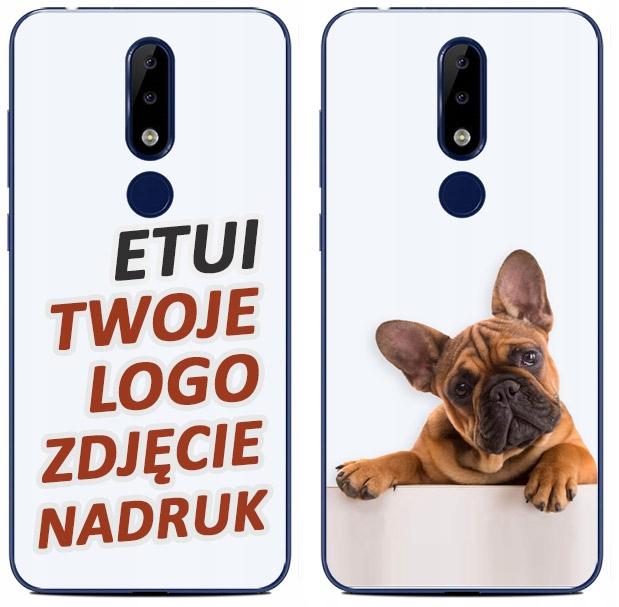 Etui Silikon Nadruk Twoje Foto Do Nokia 5.1+ Plus