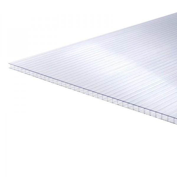 Камерный поликарбонат, теплица, толщина 4 мм 100x70 см