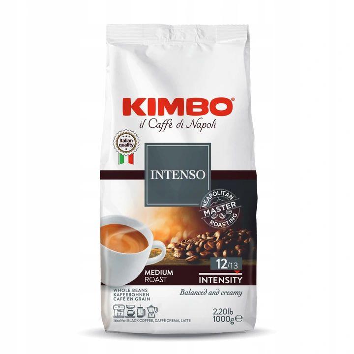 Кофе в зернах Kimbo Aroma Intenso 1 кг свежий