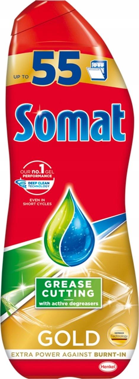 Somat Gold Żel do mycia naczyń w zmywarkach 990ml