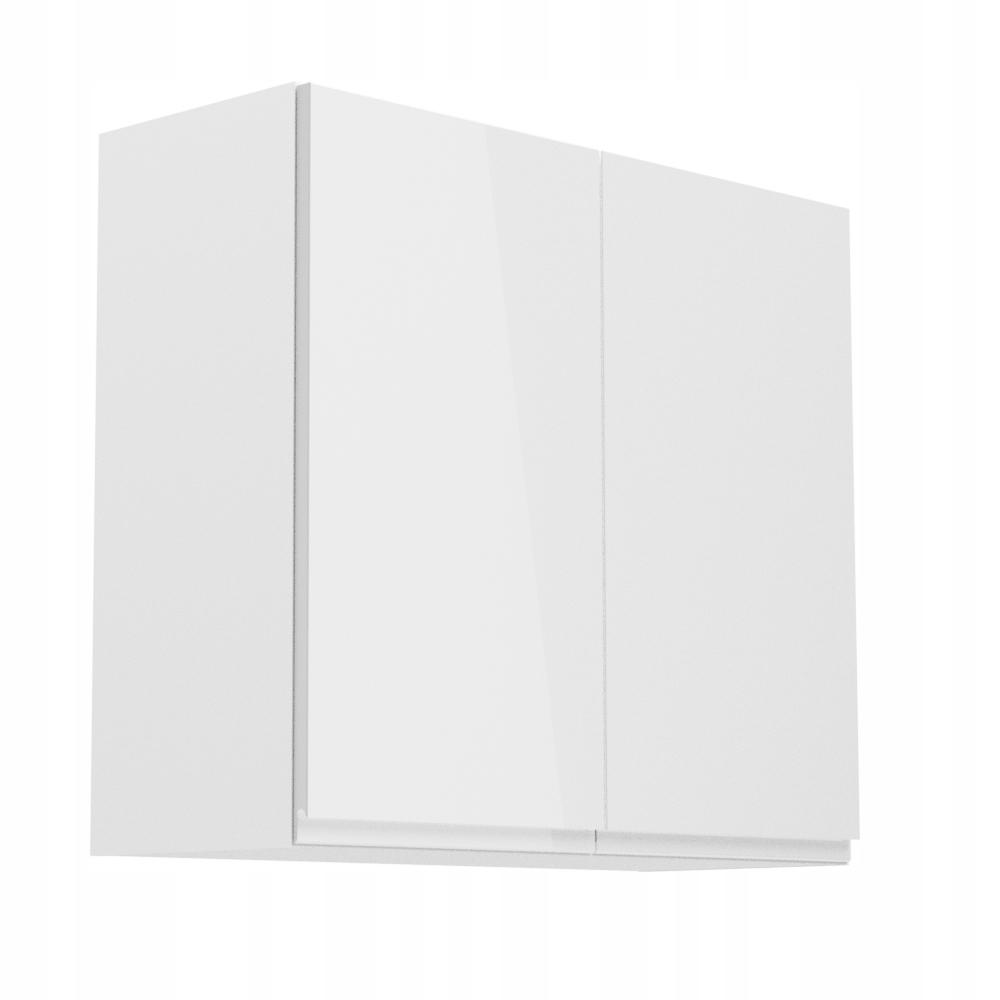 ASPEN G80 80 stene Skrinka s policou, biely lesk