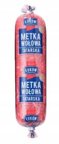 Этикетка тартара из говядины Łuków 200 г