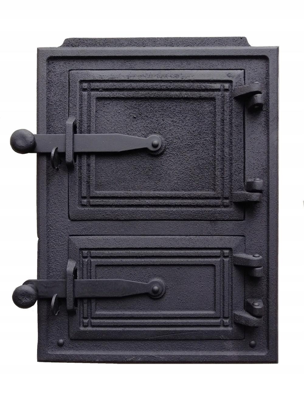 Liatinové protipožiarne dvere 34 x 26