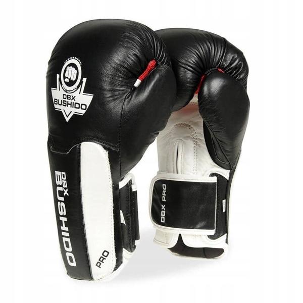 Перчатки боксерские из натуральной кожи BUSHIDO