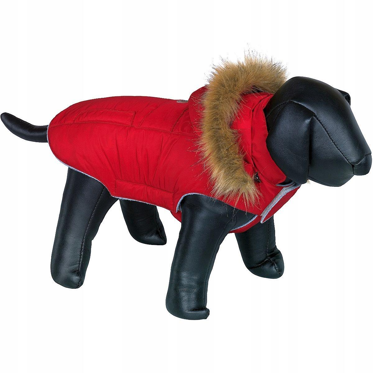 Farby, bunda pre PSOV, L, odnímateľná kapucňa, fleece Suchým zipsom