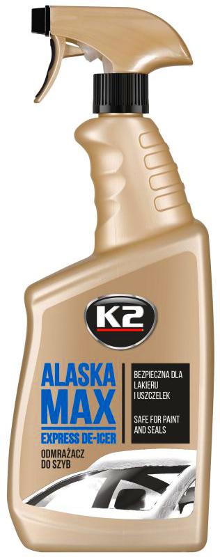 K2 ALASKA - РАЗМОРАЖИВАТЕЛЬ ДЛЯ СТЕКОЛ - ФОРСУНКИ - 700 мл