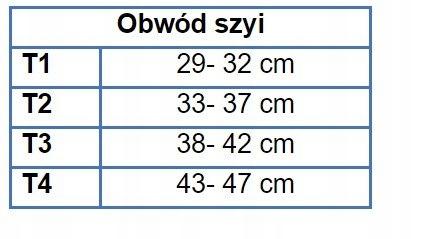KOŁNIERZ ORTOPEDYCZNY PROCARE C1 DONJOY XL Obwód szyi 43-47 cm