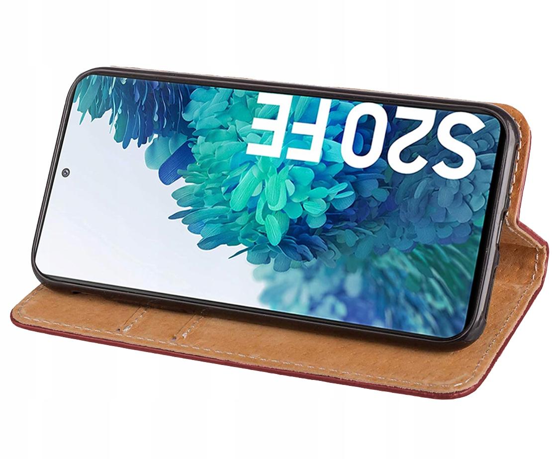 Etui do Samsung Galaxy S20 FE Skórzane Case Szkło Kod producenta E80