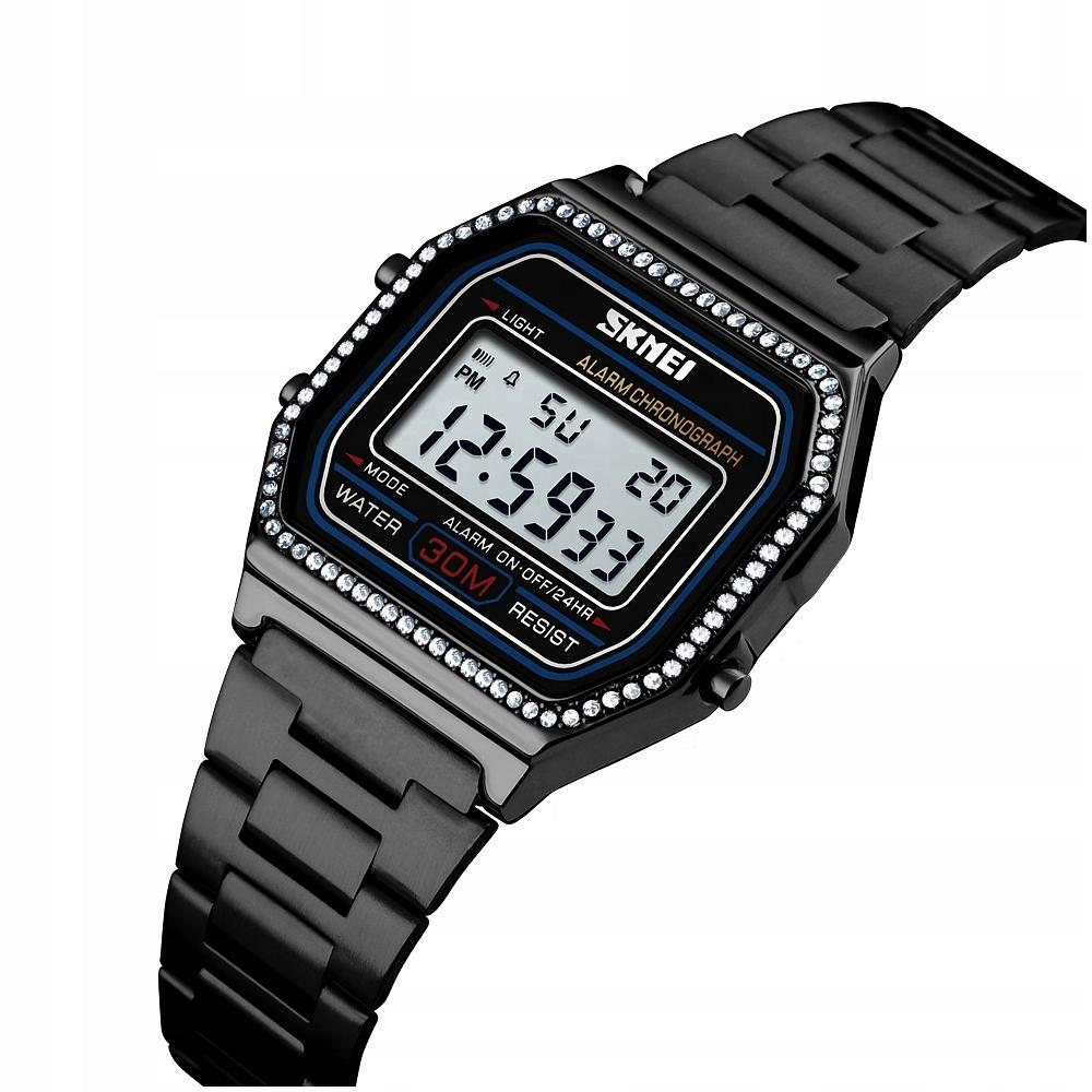 Dámsky náramok na hodinky SKMEI s retro kubickým zirkónom