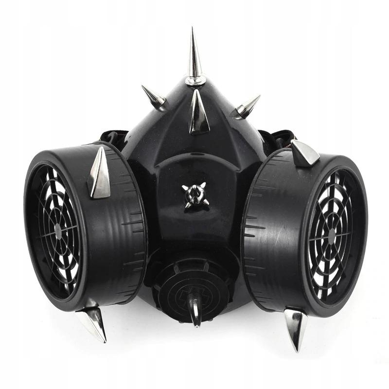 Plynová maska Steampunk Retro Cyber Gothic Cosplay