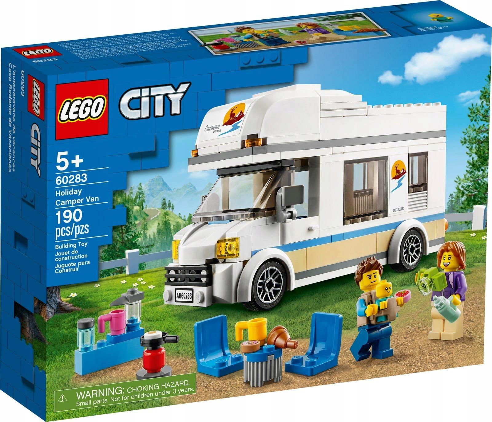 LEGO CITY 60283 WAKACYJNY KAMPER
