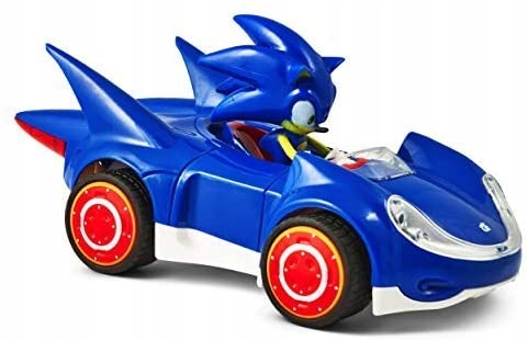 Sonic The Hedgehog auto, auto SEGA Racing