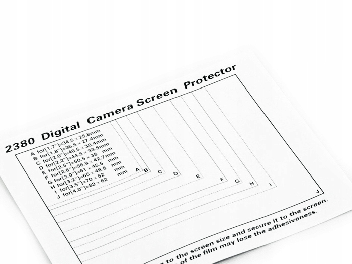 Nastavte 5x ochranný film pre LCD displej Universal
