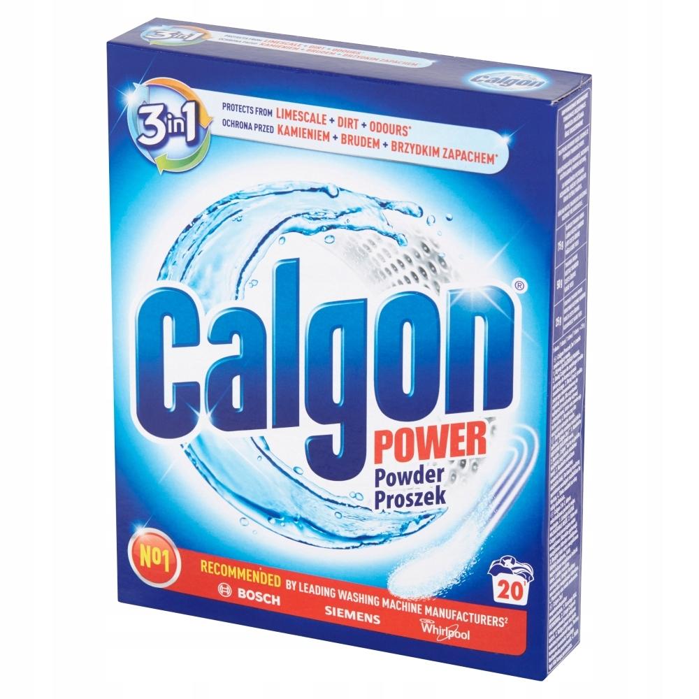 Calgon Порошок 3 в 1 для стиральных машин для удаления накипи 500г