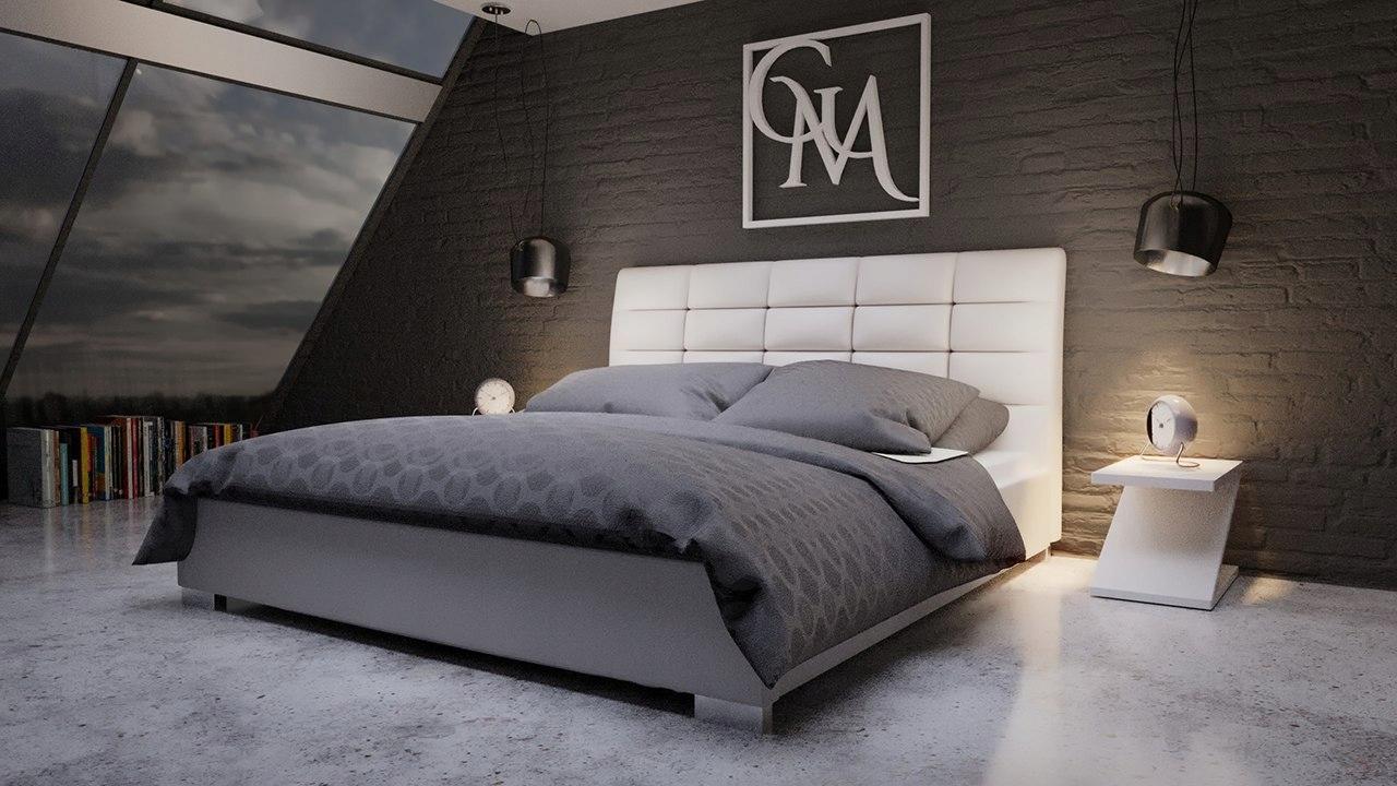 DERBI čalúnené posteľ 140x200
