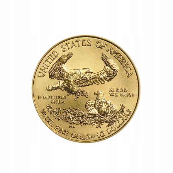 Zlatá minca Eagle Liberty 2020 1/4 Zlaté mince