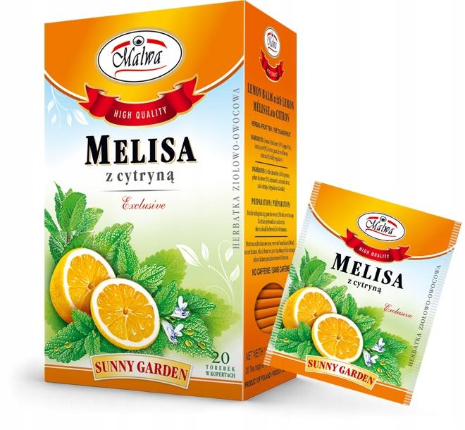 Чай из мелиссы с лимоном 20х1,5 г малва