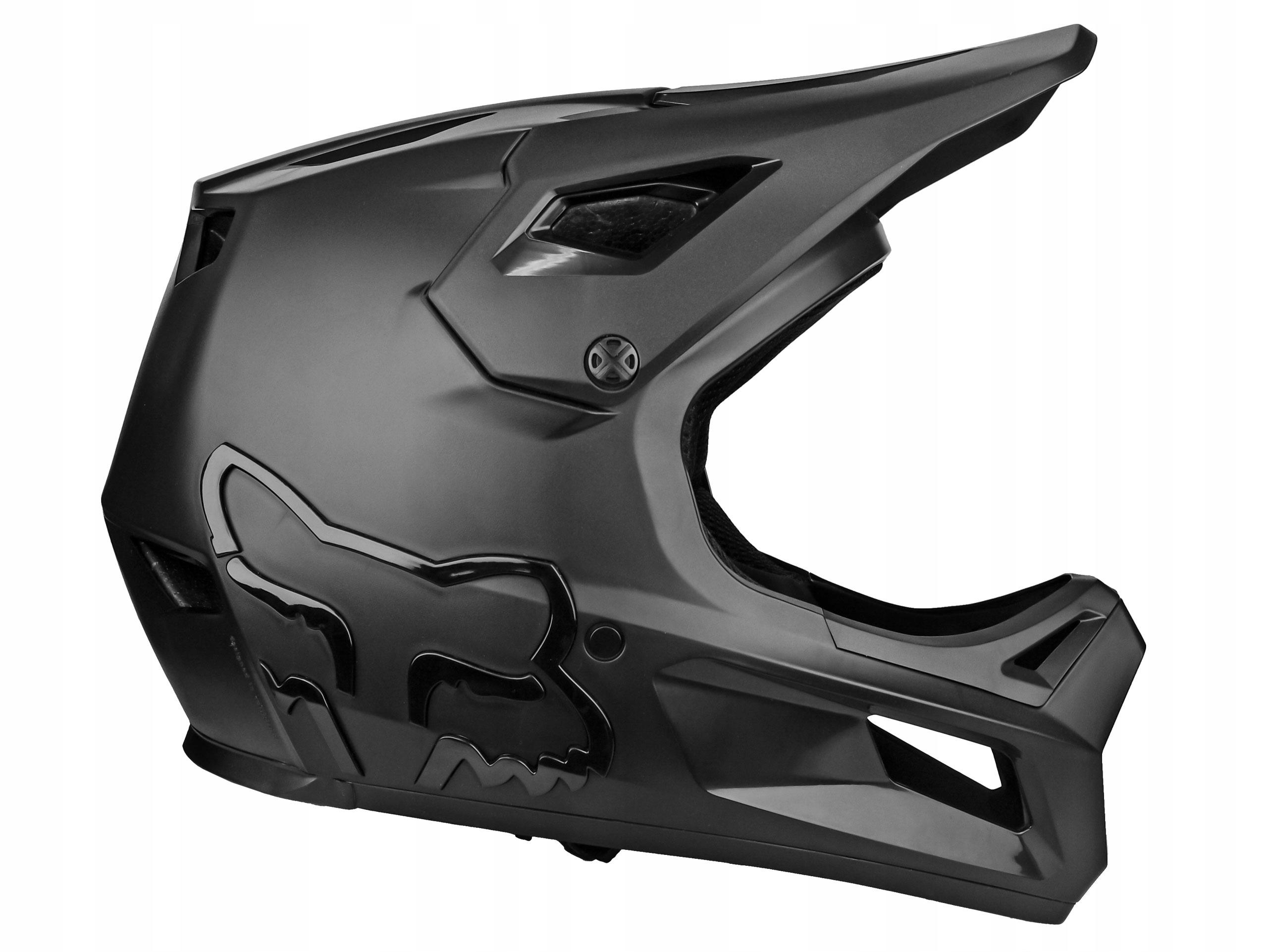 KASK ROWEROWY FOX RAMPAGE MIPS BLACK 57-58 CM / M Model RAMPAGE HLMT
